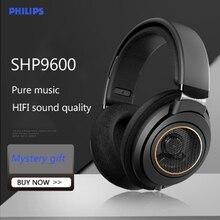 Philips – écouteurs de musique d'origine SHP9600, avec 3m de Long, hi-fi, casque de jeu, niveau de commande