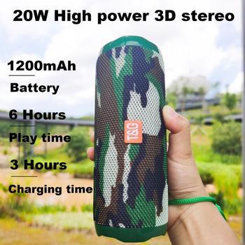 Altavoces portátiles con Bluetooth, sistema de sonido 3D estéreo hifi subwoofer para...