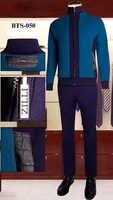 BILLIONAIRE Sportswear set Rindsleder männer 2019 new Fashion zipper baumwolle stickerei Mit Kapuze Komfortable große größe M-4XL freies verschiffen