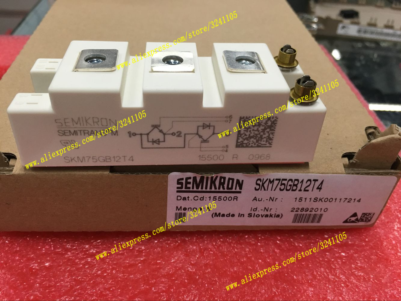 Free Shipping NEW SKM75GB12T4 MODULE