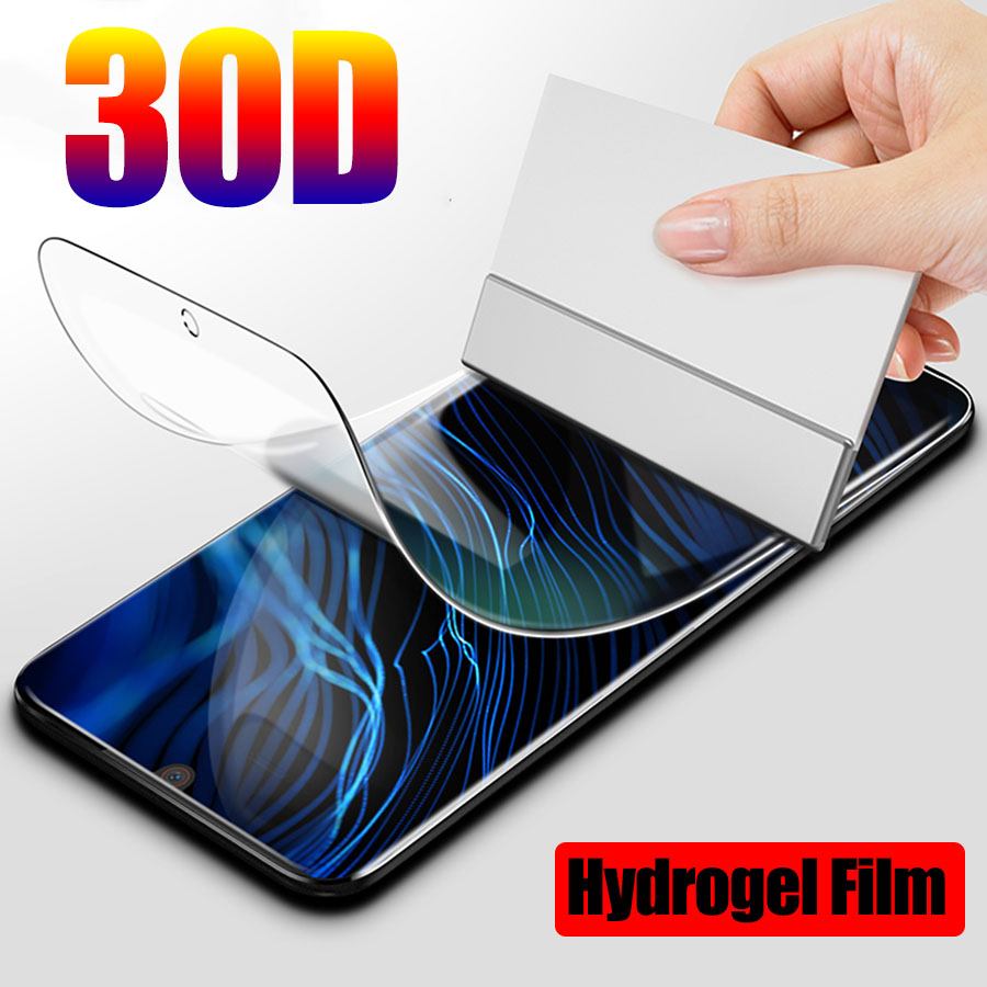 30D Protective Hydrogel Film For ZTE nubia Z17 M2 Lite Z17 Z11 Minis Screen Protector ZTE Axon 10 Pro Full Cover Film Not Glass(China)