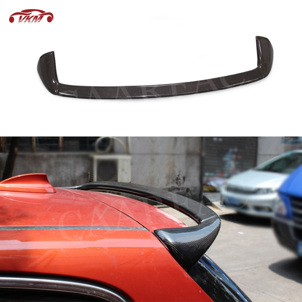 For F20 <font><b>F21</b></font> Carbon Fiber Rear Roof <font><b>Spoiler</b></font> window Wings For <font><b>BMW</b></font> 1 Series F20 <font><b>F21</b></font> 116i 120i 118i M135i <font><b>Spoiler</b></font> 2012-2018 AC Style image