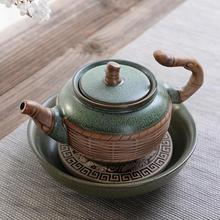 Chinese Kung Fu Tea Set Teapots Household Green Porcelain Kettle with Handle Water Pitcher Jug Teaware Ceramic Teapot Pot