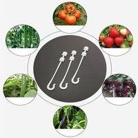 Virgo Fruit Cherry Tomato Ear Hook Garden Flower Vegetable Plant Support Tomato Clips Trellis for Garden Plant Flower