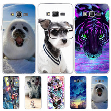 For Samsung Grand Prime G530 G531 Case Dog Cute Cat Fundas Silicone TPU Cover Coque Galaxy Phone Cases