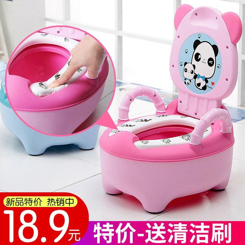 CHILDREN'S Toilet Pedestal Pan Male Baby Potty Women's 1-6-Year-Old Cartoon Baby Toilet Kids Urinal Drawer-type