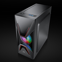 Desktop-Computer Fall ATX Full-view Seite Transparent PC Fall Unterstützung ATX/Micro ATX 155mm CPU Kühler/350mm Grafikkarte Für Spiel