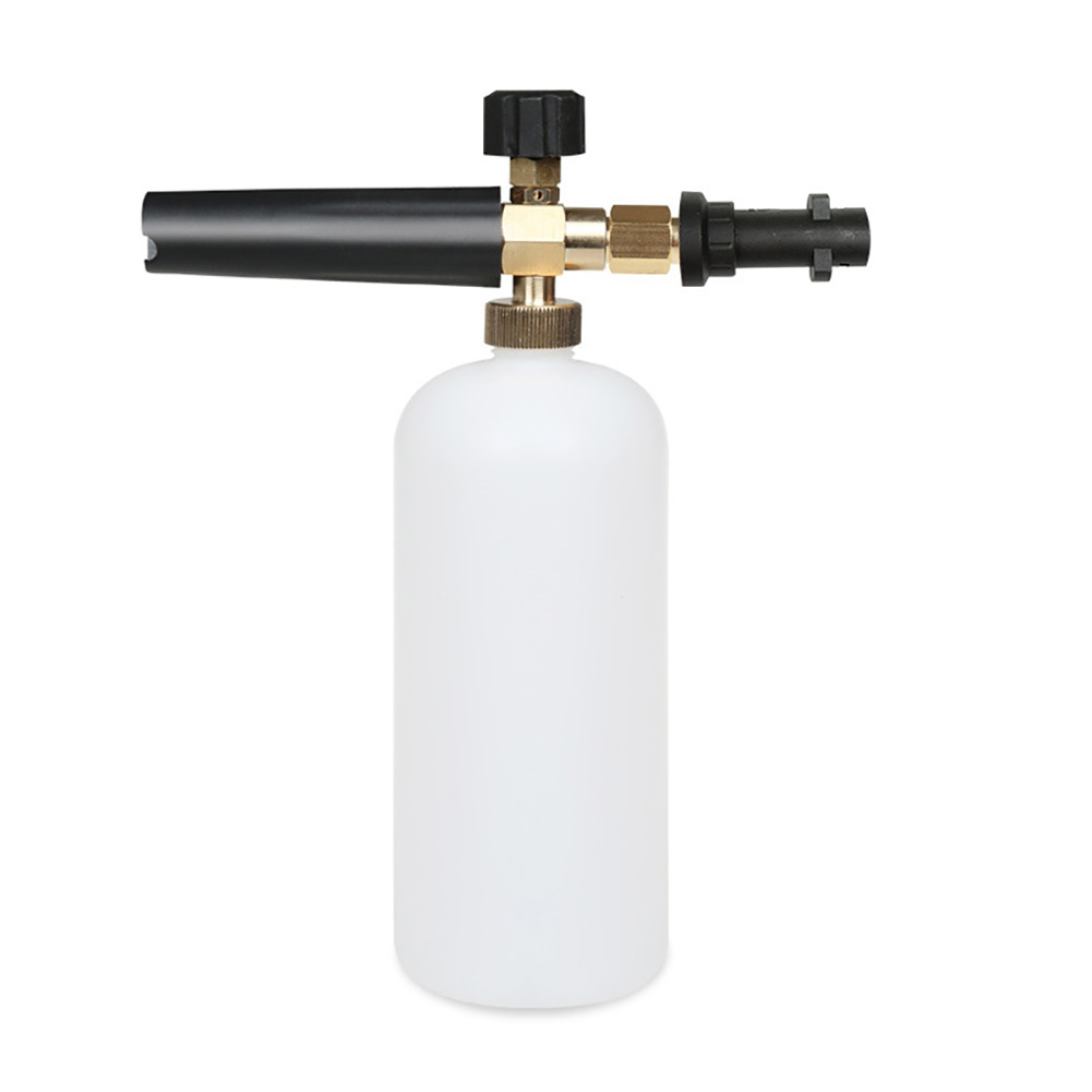 Foam Nozzle Easy Use Connector Accessories High Pressure Efficiently Portable Auto Tools Soap Car Washer Adapter Easy Install