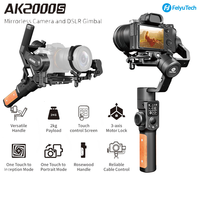FeiyuTech Feiyu AK2000S DSLR Camera Stabilizer 3-axis Handheld Gimbal Video Estabilizador for Sony Canon 5D Panasonic GH5 Nikon