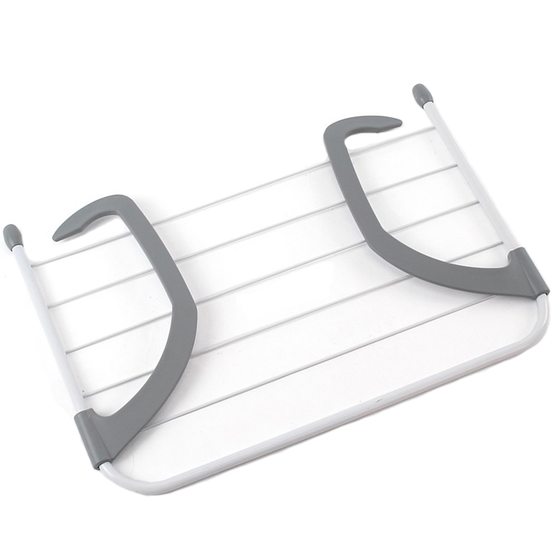 Clothes Hanger Drying Rack Wall Mount Folding Shorts Underwear Drying Rack Laundry Drying Stand Radiator Hangers for Clothes|Drying Racks| |  - title=