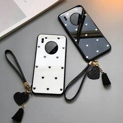 На Алиэкспресс купить стекло для смартфона for vivo nex 3 z5 z5x z1 pro case & free strap small love heart glass hard protection phone cover for vivo nex 3 s u3 u3x casing