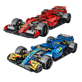 Super Speed F1 Racing Vehicle Building Blocks World Famous Formula Cars Blocks Model Toys for Kids Boys Gifts