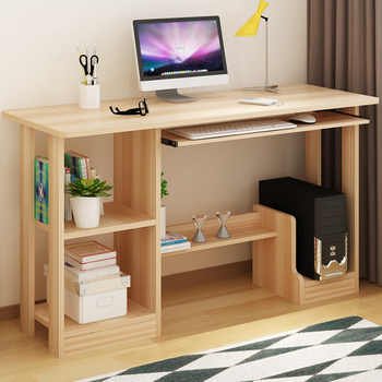 Fashion desktop computer office desk children writing desk with bookcase combination learning table home furniture - DISCOUNT ITEM  5 OFF Furniture