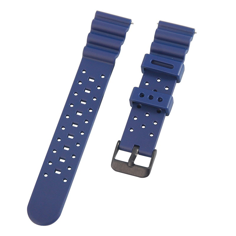 Soft Rubber ND Limits Divers Watch Strap Band  20 22 24mm For Citizen Promaster