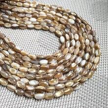 Grânulos de concha natural forma irregular soco solto grânulos isolamento grânulo para fazer jóias diy para pulseira colar acessórios
