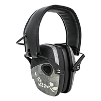 Tiro eletrônico tático protetor earmuffs esportes ao ar livre redução de ruído proteção auditiva dobrável tático fones de ouvido Protetor auricular     -
