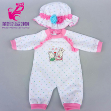 doll ballet dress fit for 43cm new born baby clothes and american wear