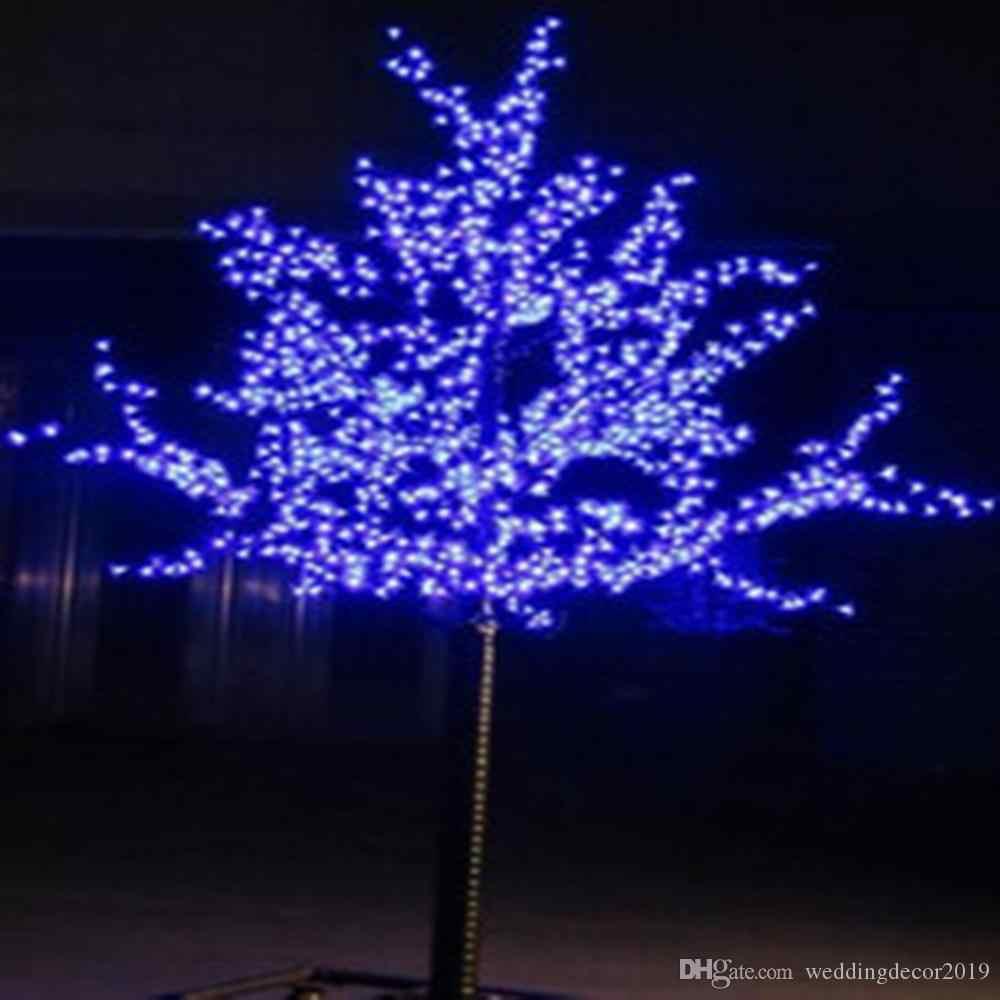 Mengkilap Ledcherry Blossom Lampu Hias Pohon Natal Tahan Air Lanskap Taman Dekorasi Lampu Untuk Pesta Pernikahan Natal Persediaan Pohon Aliexpress