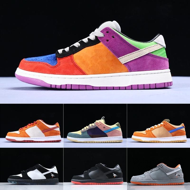 Men Women Concepts X SB Dunk Low Sports Running Shoes Lobster Diamond Su Fashion Designer Star Sole Casual Sports Shoes 36-45