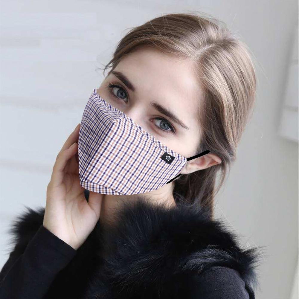 Cotton PM2.5 Women Mouth Mask Anti Dust Mask Activated Carbon Filter Windproof Mouth-muffle Bacteria Proof Flu Face Masks Care