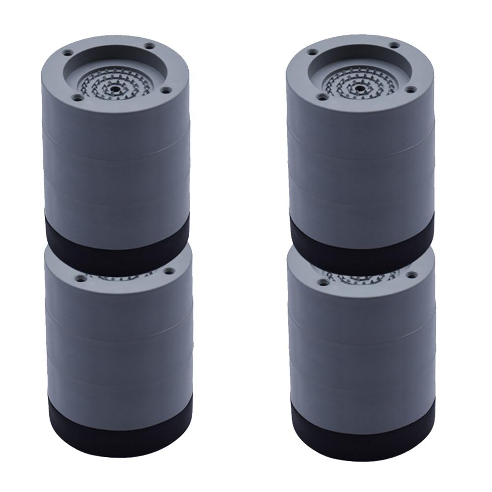4Pcs Universal Feet Pad Rubber Fixed Furniture Non Slip Washing Machine Waterproof Accessories Floor Mat Anti Vibration Home