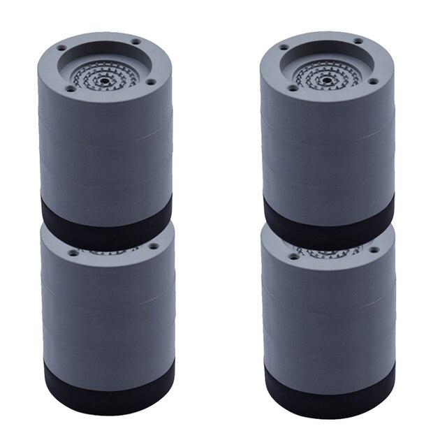 Coussinet universel pour les pieds en caoutchouc meubles fixes antidérapants Machine à laver, accessoires étanches, tapis de sol Anti Vibration, pour la maison