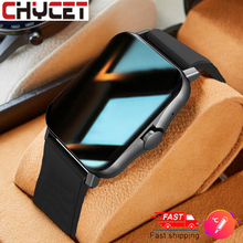 CHYCET Smart Watch Men Body Temperature Monitor Bluetooth call Smartwatch Women Heart Rate Fitness Tracker Music Control Clock