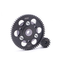 KYX Racing Harte Stahl Heavy Duty 56 T/15 T Spur Gear set für RC Crawler Auto Axial Wraith SCX10 Getriebe-in Teile & Zubehör aus Spielzeug und Hobbys bei