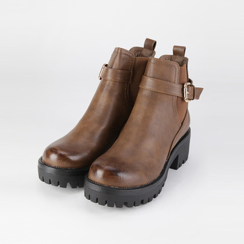 Ankle Chelsea soled carrarmato