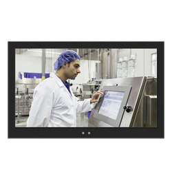 18.5Inch Aio Industriële Tablet Pc Weerstand Touch Screen1366 * 768 I3 I5 I7 Win7/Win8 Embedded Montage