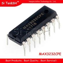 10 قطعة MAX3232 MAX3232CPE MAX3232EPE DIP 16 RS 232