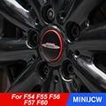 54 мм и 56 мм накладка на ступицу колеса автомобиля, крышка, наклейка, наклейка, эмблема для MINI Cooper S JCW One F54 F55 F56 F57 F60 R55 R56 R60 R61
