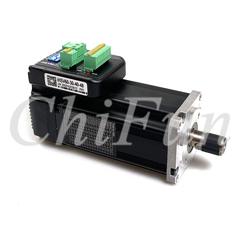 V605 новая версия JMC iHSV60-30-40-48 400 Вт встроенный драйвер серводвигателя 48 В постоянного тока 3000 об/мин 1000 нм с линейным кодировщиком