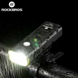 Rockbros Fiets Usb Oplaadbare Licht 700 Lumen Mtb Fiets Licht Power Bank Zaklamp Waterdichte Fiets Accessoires 5 Modi|bicycle usb|bicycle accessoriesmtb bike lights -