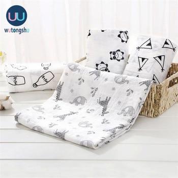 Muselină învelește pături pentru bebeluși accesorii de fotografie lenjerie de pat pentru husa nou-născută pentru alăptare