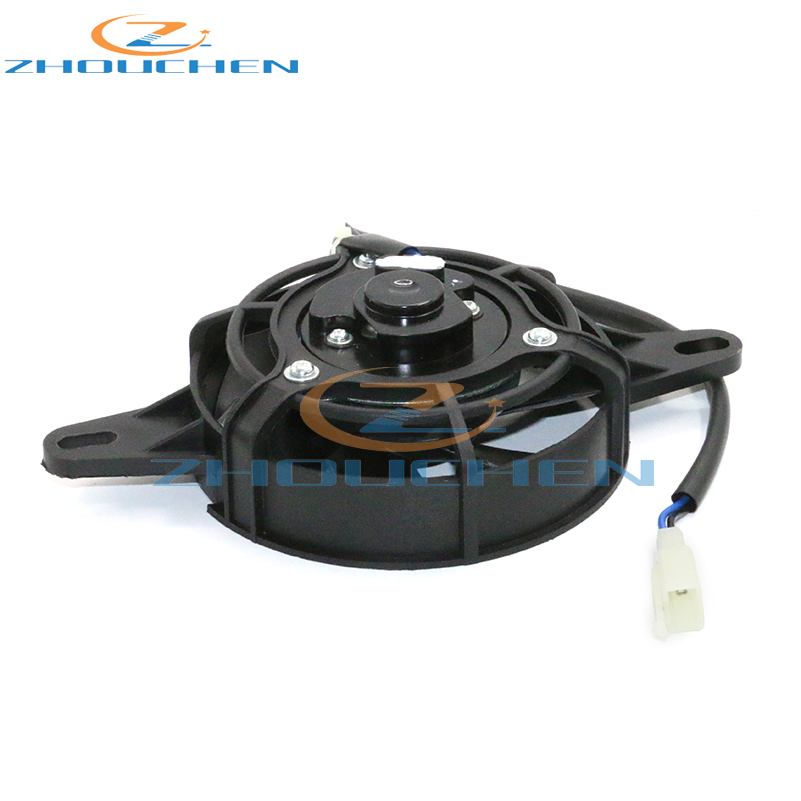 Motorcycle-Cooling-Fan Cooler Radiator Bike Dirt-Pit Quad-Oil Electric Water 300cc 120mm title=