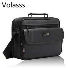 Bolsas masculinas de tamanhos grandes, pasta masculina executiva impermeável de alta qualidade para laptop, embalagem para negócios, 2020