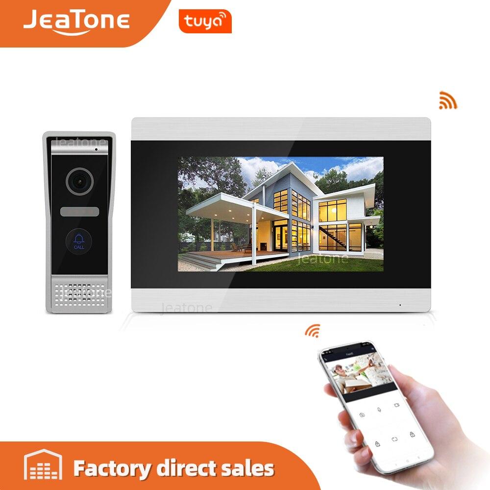 Touch Screen Wireless WIFI IP Video Door Phone Intercom Video Doorbell Villa Apartment Access Control System Motion Detection