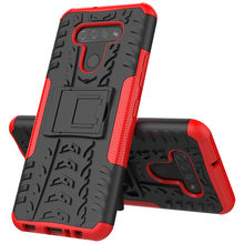 Hybrid Rugged Armor Case For LG K51 V60 V50S Q60 Stylo 5 K30 2019 Shockproof Heavy Duty Hard PC Silicone Cover With Stand Fundas недорого