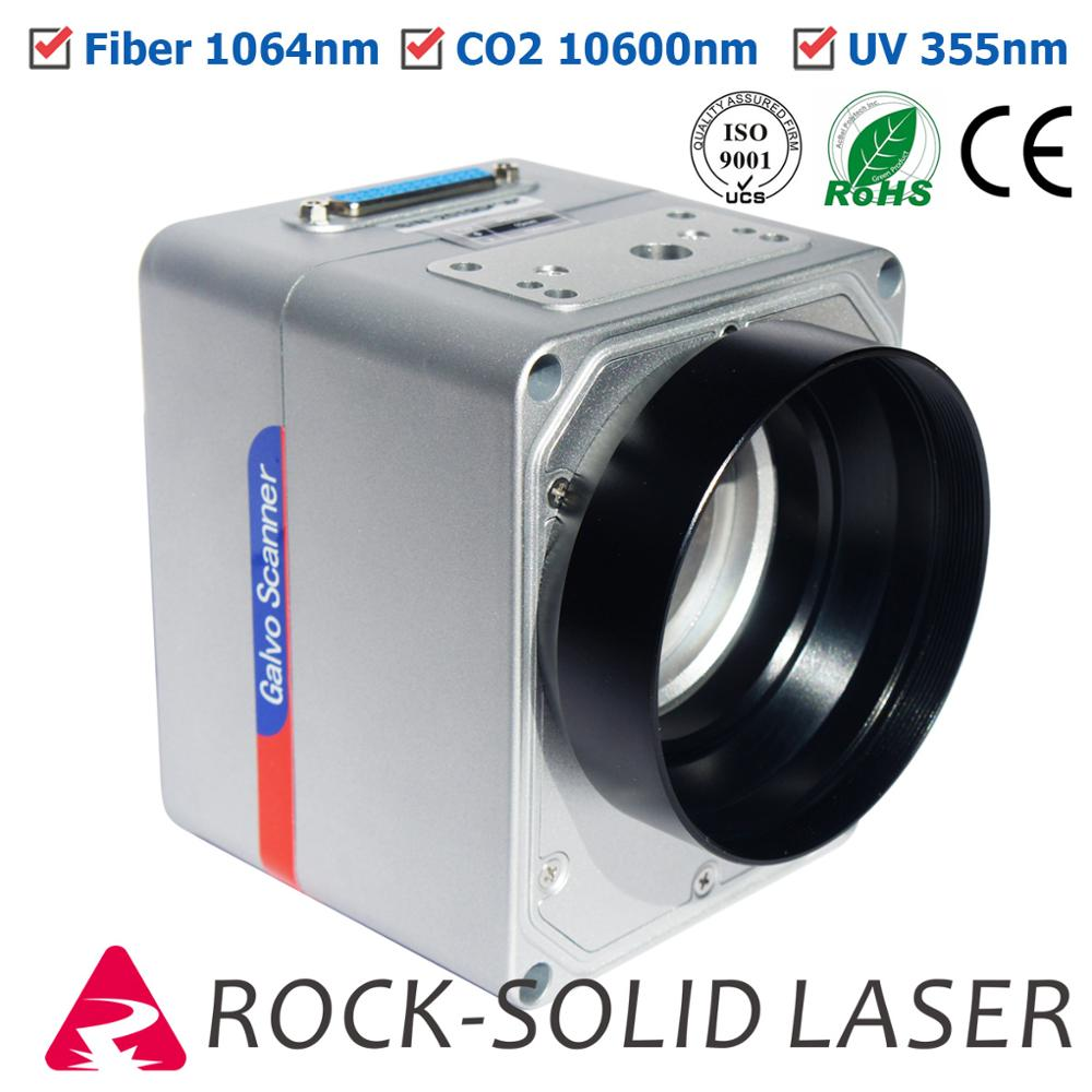 Fiber Laser Galvo Scan Head CO2 UV Galvanometer High Speed Scanner Marking Machine Parts 1064nm 10600nm 355nm