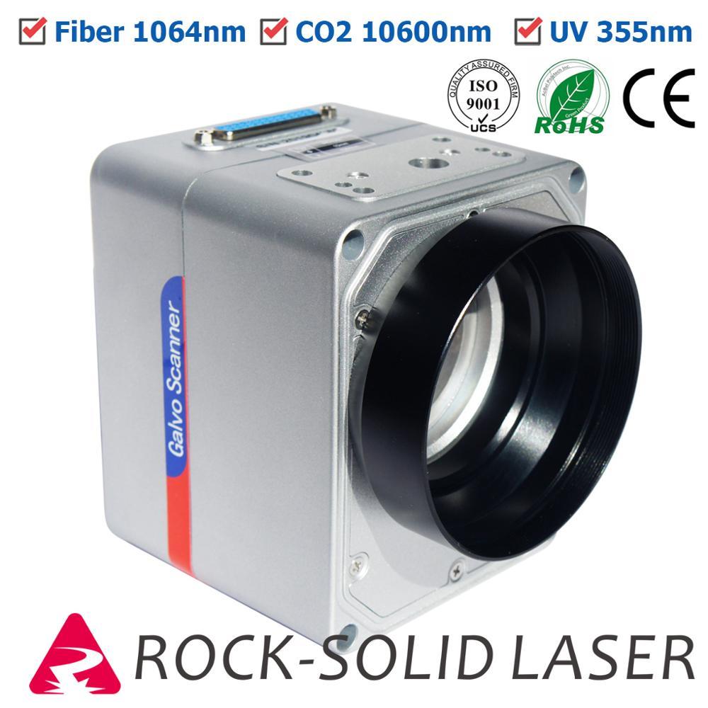 Fiber Laser Galvo Scan Head CO2 UV Galvanometer High Speed Scanner Marking Machine Parts 1064nm 10600nm 355nm