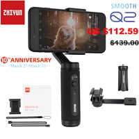 Zhiyun Smooth Q2 / Smooth 4 3-Axis Smartphone Handheld Gimbal Stabilizer for iPhone 11 Pro Max XS X 8P Samsung S10 S9 S8 Huawei