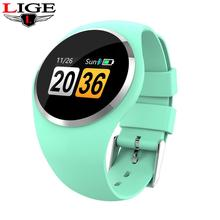 LIGE 2019 new Smart Bracelet Women IP67 waterproof sports Smartwatch Heart Rate Monitor Blood Pressure Watch fit bit N58