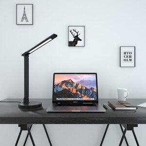 Image 5 - Greenbird ledデスクランプ、目思いやりテーブルランプ、調光対応のofficeランプusb充電ポート、5照明モードと7輝度