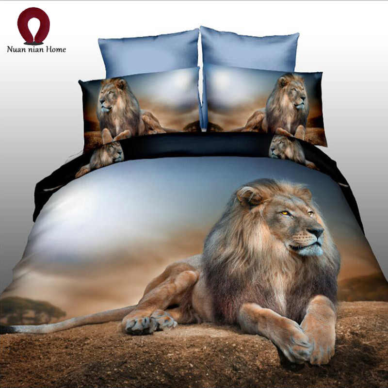 Dog 3D Europe and America Kit Bedding Red Cute Home Textile Set Duvet Pillow Case Color Printing Free Shipping