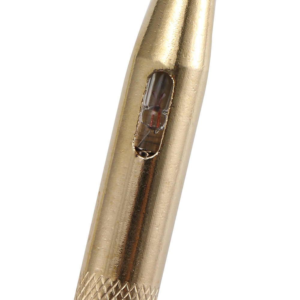 Outil de Diagnostic automatique de détecteur de stylo d'essai de tension de lampe de lampe de sonde de système de lumière de sonde d'appareil de contrôle de Circuit de voiture de cc 6 V-24 V