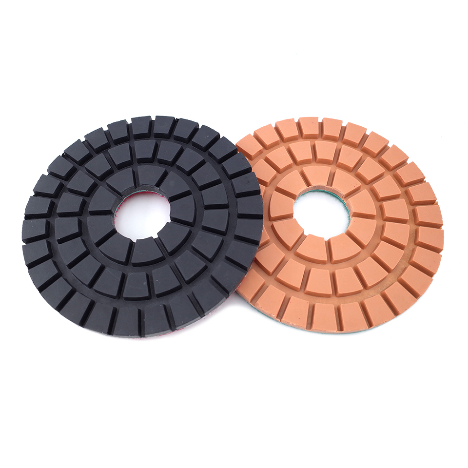 4inch Sponge Angle Grinding Polishing Pad Wheel For Granite Marble Grit 150 5Pcs