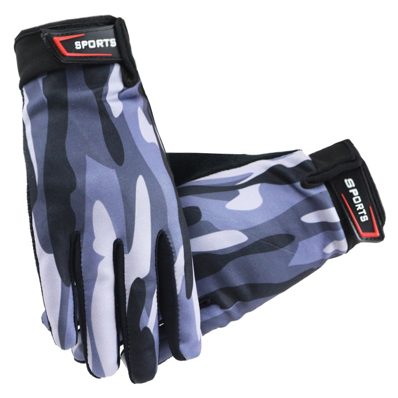 Men Women Cycling Gloves Full Finger Breathable Touch Screen Fitness Gloves Outdoor Sports MTB Road Bike