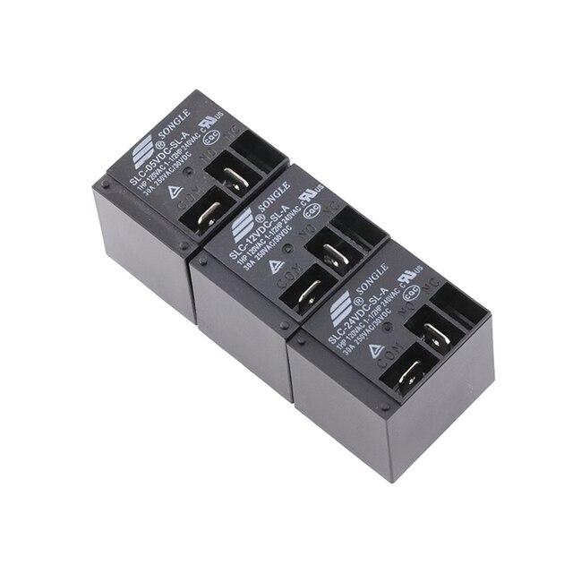 10 قطعة/الوحدة الطاقة التبديلات SLC 05VDC SL A SLC 12VDC SL A SLC 24VDC SL A 30A T91 HF2100 4PIN مجموعة من عادة مفتوحة