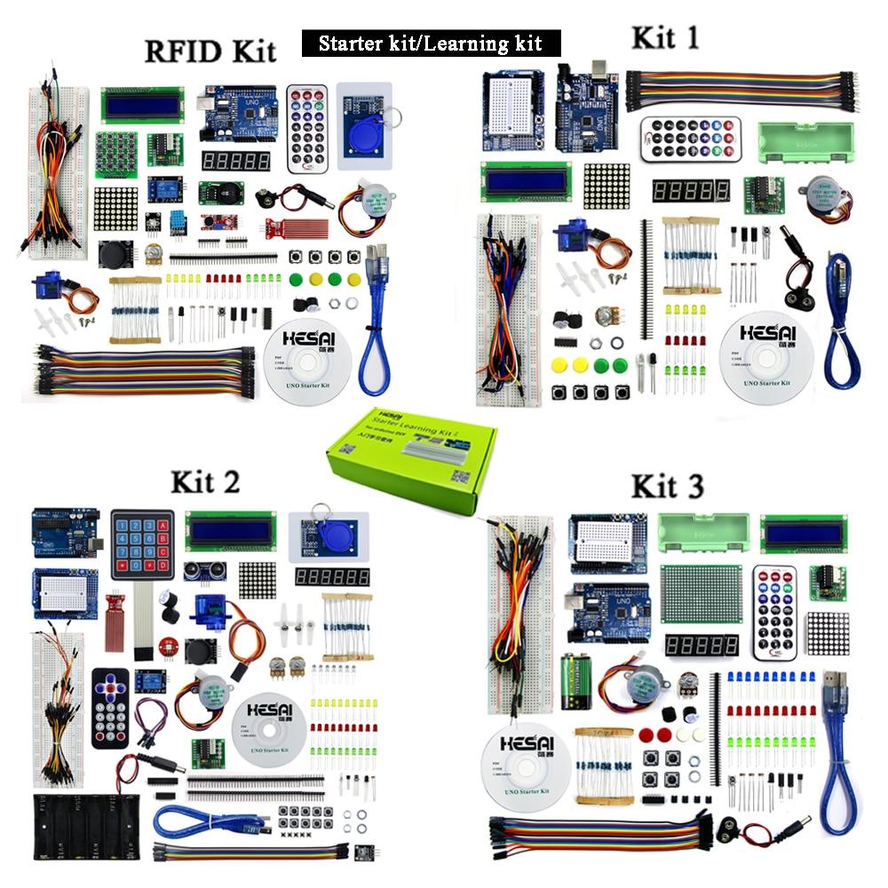 Starter Kit / Learning Kit (UNO R3)  RFID Starter Kit UNO Basic Starter Learning Kit Upgraded Version